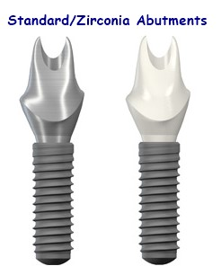 Implant Supported Fixed Crowns Amp Custom Implants Clinic Oral